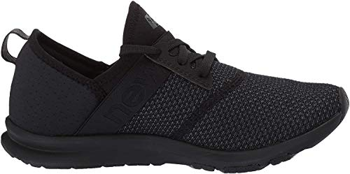 New Balance Women's FuelCore Nergize V1 Sneaker, Black/Magnet, 10.5 W US