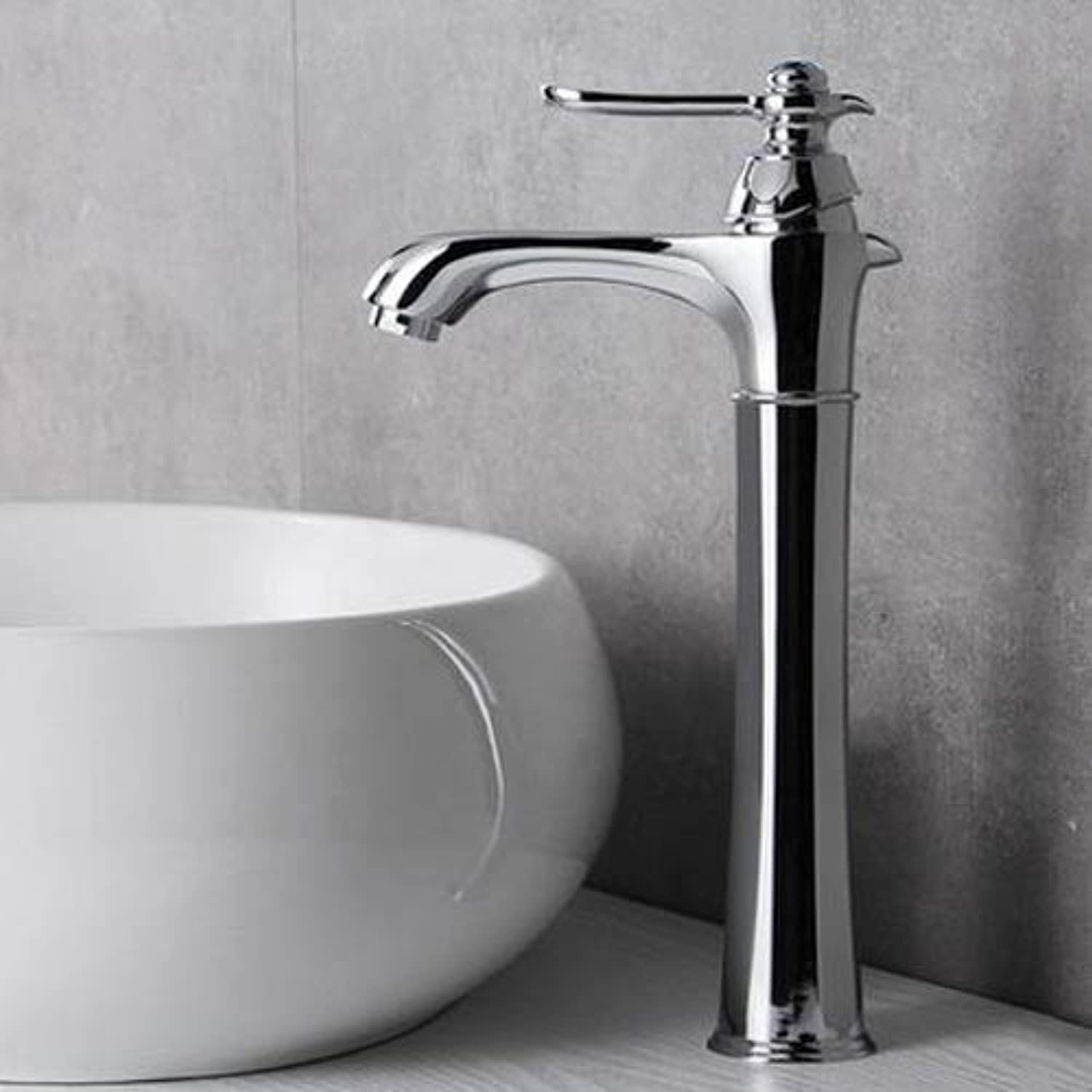AXWT Bathroom Hot And Cold Above Counter Basin Faucet Taps Basin Wash Basin Plating Chromium Faucet Water-tap bluee Diamond Faucet The New