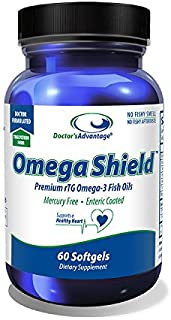 Doctor's Advantage Products Omega Shield, 60 Count