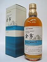 ニッカ シングルモルト余市 ピーティ&ソルティ Nikka Japanese Single Malt Whiskey Yoichi Peaty and Salty 500ml