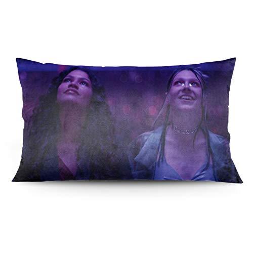 EU-Pho-Ria Anime Pillowcase (Black, 20x36 in) Sliding Pillowcase Standard Pillowcase - Polyester Pillowcase