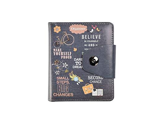 Cuaderno de rayas con diseño de la vida, con texto