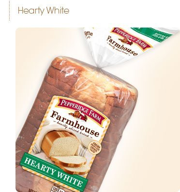 Pepperidge Farm Hearty White Bread