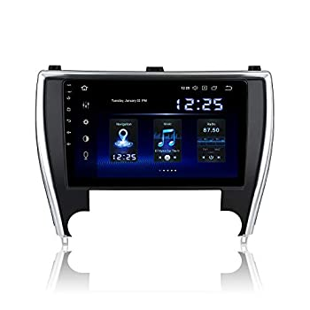 Dasaita10.2  Android10.0Bluetooth Car StereowithCarplayforToyota Camry 2015 2016 2017 GPS Navigation for Car Entertainment Multimedia Radio Touch Screen 1280x720 with 4G Ram 64G ROM