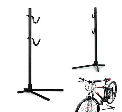 2MM Service Fahrrad Halter Halterung Ständer Fahrradhalter Stabil Schwarz Reparaturständer MHBS02