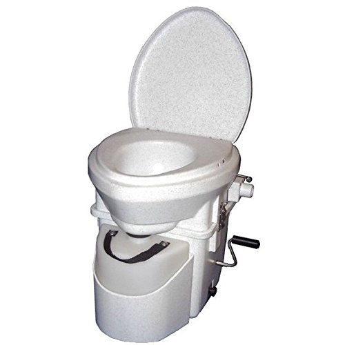 Nature's Head Composting Toilet with Crank Handle by Nature's Head