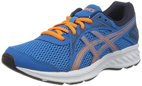 ASICS Jolt 2 Running Shoe, Directoire Blue/Orange Cone, 33 EU