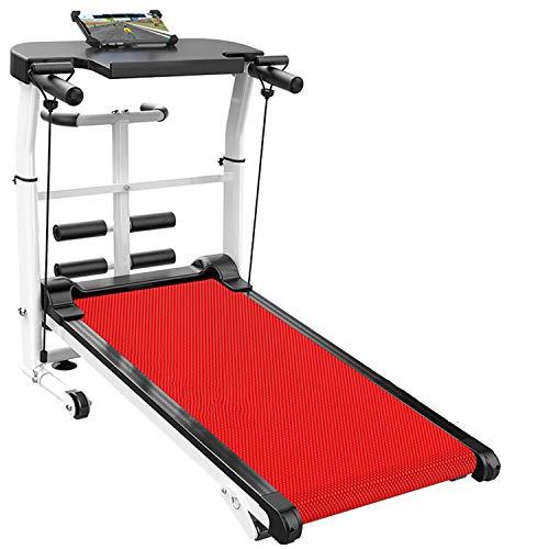 Yinhai Mechanisches Laufband Heimfitnessgeräte Falten Gewichtsverlust Abnehmen Stummes Gehgerät, Laufband Heimfitnessgeräte,110 * 115 * 55 cm