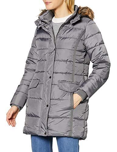 Mexx Damen Mantel, Grau (Grey 300009), Gr. 42-XL