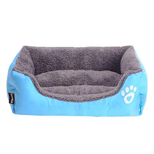 ZBSY Cama de perro grande caliente casa de perro nido suave canastas perrera impermeable para cachorro gato más tamaño envío gota XL