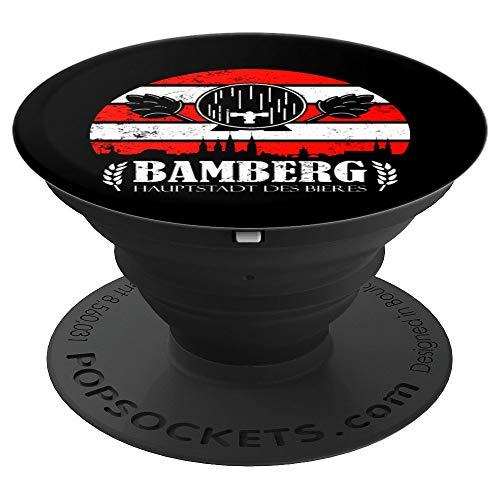 Bamberg Geschenk für einen Bamberger Bier Liebhaber - PopSockets Ausziehbarer Sockel und Griff für Smartphones und Tablets