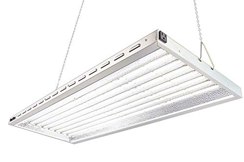 Durolux DLED8048W 320W LED Grow Light - Over 50% EnergySaving! (4x1.5 Foot | 200W, White | FullSun Seed & Veg)