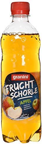 granini Frucht Schorle Apfel, 18er Pack, EINWEG (18 x 500 ml)