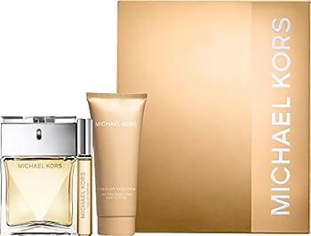 Michael Kors 3 Piece Set  3.4 oz Eau de Parfum Spray + .34 oz Eau de Parfum Rollerball + 3.4 oz A Fabulous Body Lotion