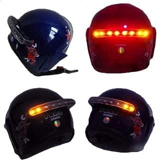 Wireless DC 12V LED Motorcycle Helmet mount Turn Signal Stop Brake Running light