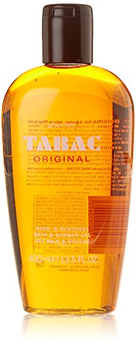Tabac Original Shower Gel for Men. Sanft zur Haut. Schützt vor Austrocknen. Original Seit 1959. 400 ml.
