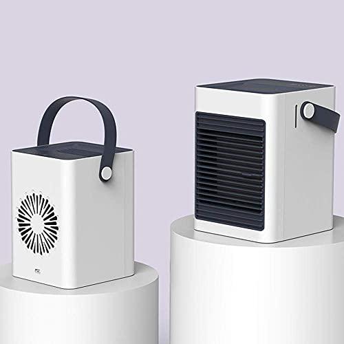KELITINAus Mini Condizionatore D'Aria, Rafdatore D'Aria Portatile, Ricarica Usb, Umidificatore a 3 Velocità, Ideale per il Lavoro e L'Uso Domestico Wtz012