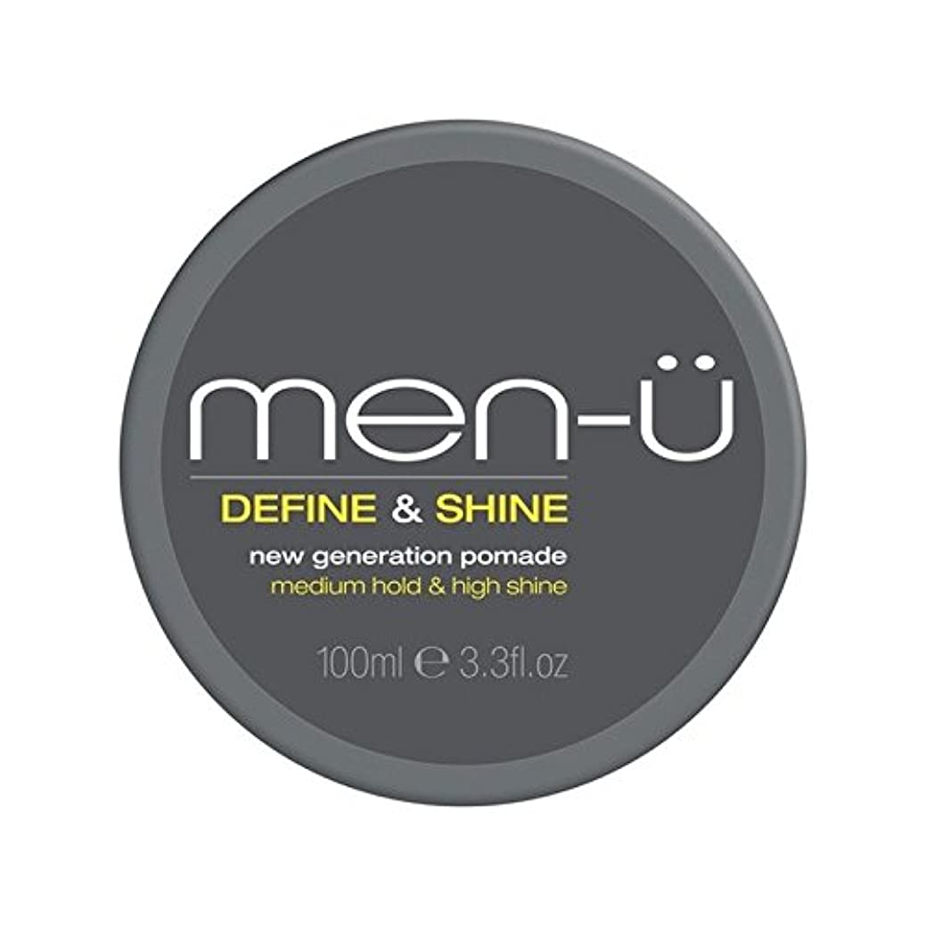 なぜ散歩に行く相互接続Men-? Men's Define And Shine Pomade (100ml) (Pack of 6) - 男性-メンズは定義し、輝きのポマード(100ミリリットル) x6 [並行輸入品]