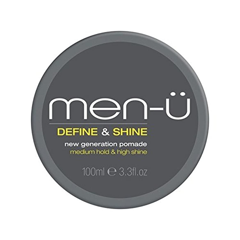石炭ウェイトレスマルクス主義Men-? Men's Define And Shine Pomade (100ml) (Pack of 6) - 男性-メンズは定義し、輝きのポマード(100ミリリットル) x6 [並行輸入品]