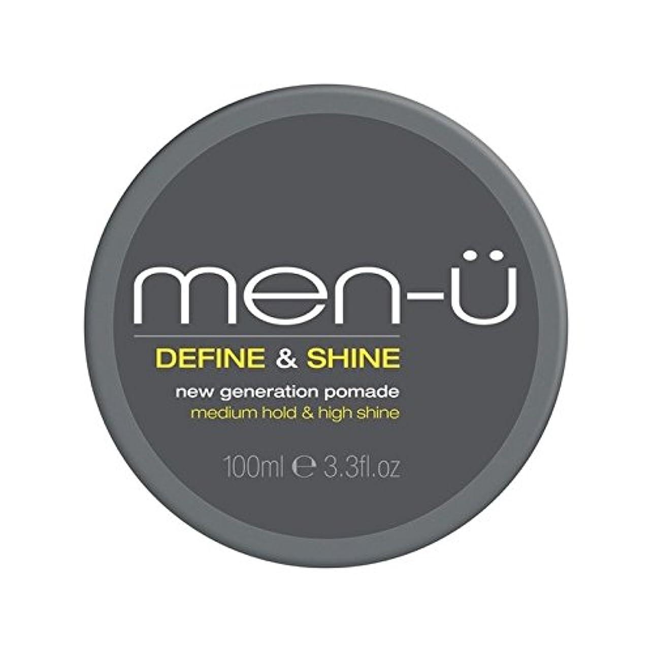 法令石油ドキュメンタリーMen-? Men's Define And Shine Pomade (100ml) (Pack of 6) - 男性-メンズは定義し、輝きのポマード(100ミリリットル) x6 [並行輸入品]