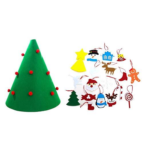 Weihnachten Set DIY Wandbehang Weihnachten Anhänger Ornamente Home Office Klassenzimmer Tür Dekor Baum mit Abnehmbarem
