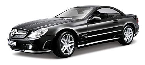Maisto 536193 Mercedes SL65 Cabrio AMG Black Series '09 - Coche a escala 1:18 (varios colores) , color/modelo surtido