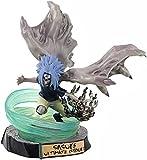 Anime Regalo Anime Modelo Muñeca Naruto Uchiha Sasuke Curse Seal Chidori San Diego Juguete Acción Figura Escultura 17cm