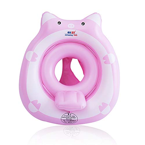 relaxing baby Floaties for Infants Baby Swimming Seat Tub with Safe Bottom Support and Backrest Inflatable Floats Pool Toys for Bathtub 1226 Months