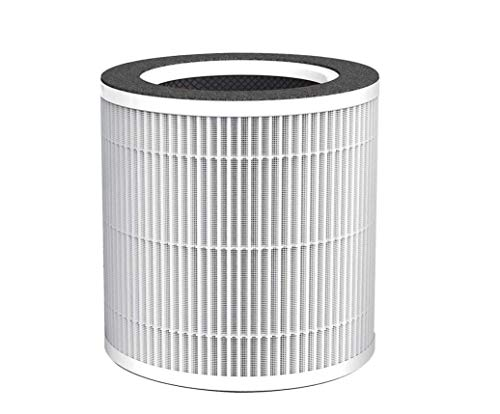 MEGAWISE Medical Grade True HEPA Filter, Compatible with EPI235A True HEPA Air Purifier Air Cleaner, 4 Stage Filtration, Eliminate Odor and Remove 99.97% Dust Pollen VOCs