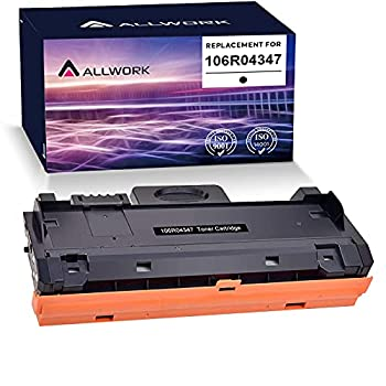 ALLWORK Compatible Xerox B205/ B210/ B215 Toner Cartridge Replacement for 106R04347 106R04346 High Yield 3,000 Pages use for Xerox B205NI B210DNI B215DNI Printer  Black 1-Pack