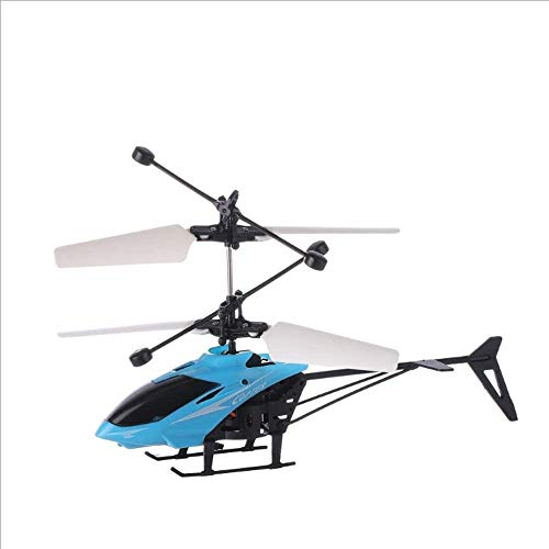 Zhangl 3.5 Canal girocompás incorporado anti-colisión de interior al aire libre mini helicóptero teledirigido de radio de los aviones de juguete de inducción de luz intermitente juguetes voladores Pri
