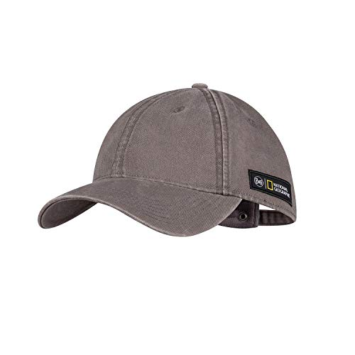 Buff Unisex Baseball Cap, Grey, Einheitsgröße