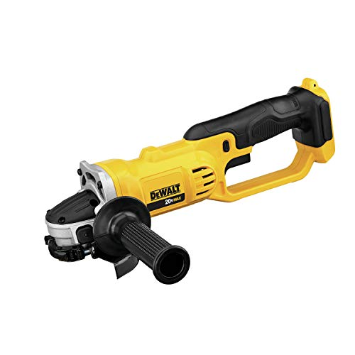DEWALT DCG412BR 20V MAX Lithium Ion 4-1/2 inches (115mm) / 5 inches (125mm) Grinder Tool Only (Renewed)