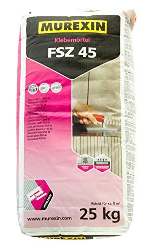 MUREXIN Klebemörtel FSZ 45 (C2TE) 25 kg für den Innen- und Außenbereich, universell einsetzbar