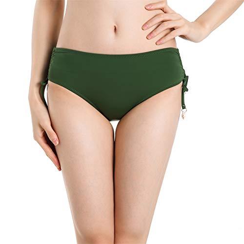 AMVUZ Braguitas de bikini para mujer con tallas de ties.