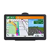 7 Inch GPS Navigation for Car Truck 2021 Americas Map Free Lifetime Map Update Includes Postcodes& POI Speed Cam Alerts Lane Assist Guidance