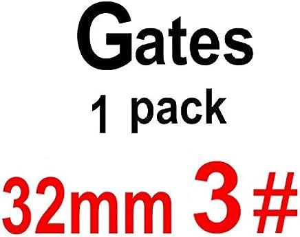 CAPRICOS: Puerta taladros de 32 mm de endodoncia Escariadores de Gates Glidden Endo archivos puerta Materiales Dentales: 32mm 3 puertas