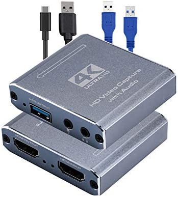 1JUSTLINK 4K HDMI USB 3 0 HD Game Video Capture Card 1080P 60FPS Live Streaming Game Recorder product image