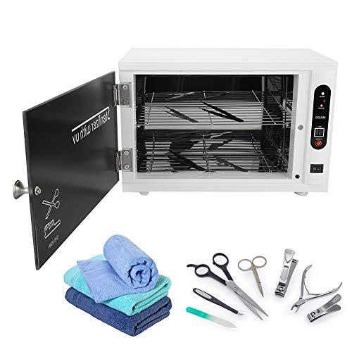 2 en 1 Gabinete de Esterilizador Estetica UV y Alta Temperatura, Caja
