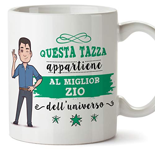 Mugffins Zio Tazza/Mug – Questa Tazza Appartiene al...