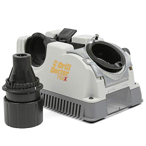 Drill Doctor 750X Drill Bit Sharpener for High-Speed...