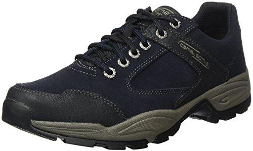 camel active Herren Evolution 11 Sneaker, Blau (Midnight/Black), 40.5 EU