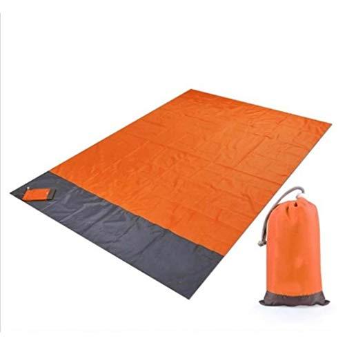 DFCV Picnic portátil Playa Mat Camping Tienda de campaña Manta de Bolsillo Impermeable Matera Manta Manta Colchón de Tierra Picnic al Aire Libre