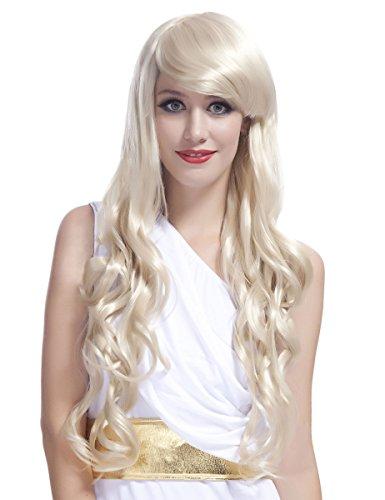 DEGUISE TOI - Perruque Glamour Longue Blonde avec Boucles Femme - Taille Unique