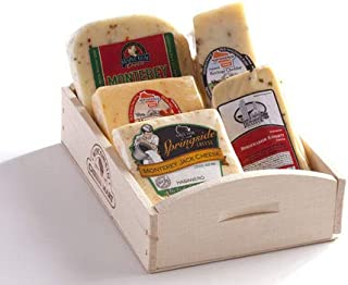 Hot and Spicy Cheese Gift Basket by Wisconsin Cheese Mart
