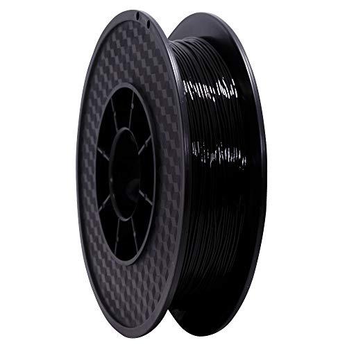 WANHAO Filament: Premium Black TPU 0.5 kg/1.75 mm 64D – Filament for 3D Printers