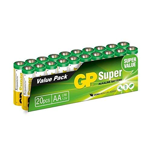 GP Batteries 5508 AA Super, Vert
