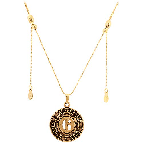 Alex And Ani Number 6 Rafaelian Gold Finish Expandable Necklace A15EN48RG
