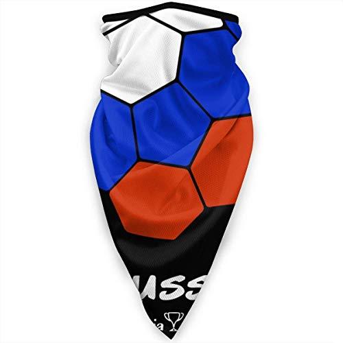 IMERIOi Russia Football Nackenschutz Sun-Proof Windproof Nackenwärmer Thermal Lightweight Balaclava Halbmaske Unisex Nackenschutz Warmer for Winter Sk