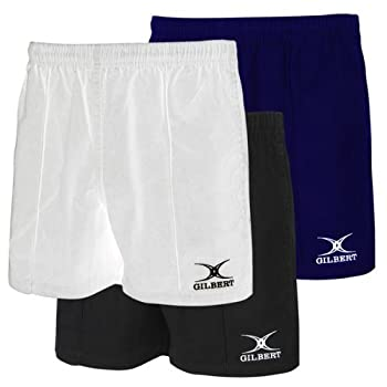 Black Medium Pro Rugby Shorts